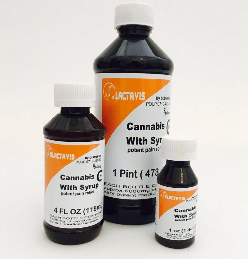 Buy Slactavis Cannabis Syrup Worldwide